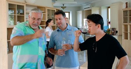 John Ortega, Jan Heere, Tony Wong