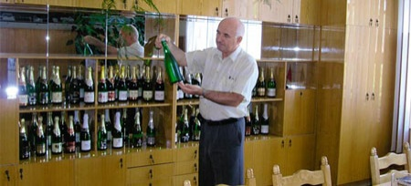Winemaker Georgi Nepranov