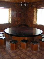 The Politburo Table at Myskhako Winery