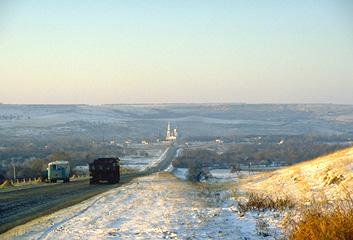 Stavropol Region in Winter