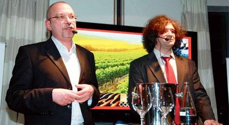 Vladimir Capelik, President of the Independent Wine Club