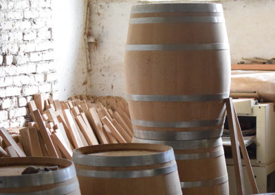 Barrel making at Fanagoria Wine Estate