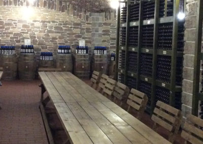 Tasting Area at Old Greek Wine Cellar