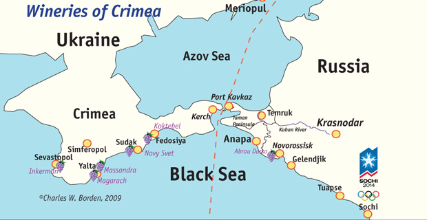 Ukrainian Wine Country – Crimea