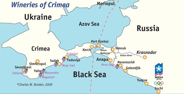 Ukrainian Wine Country – Crimea