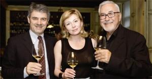 Renzo Cotarella, Irina Fomina (President MBG Impex), John Ortega