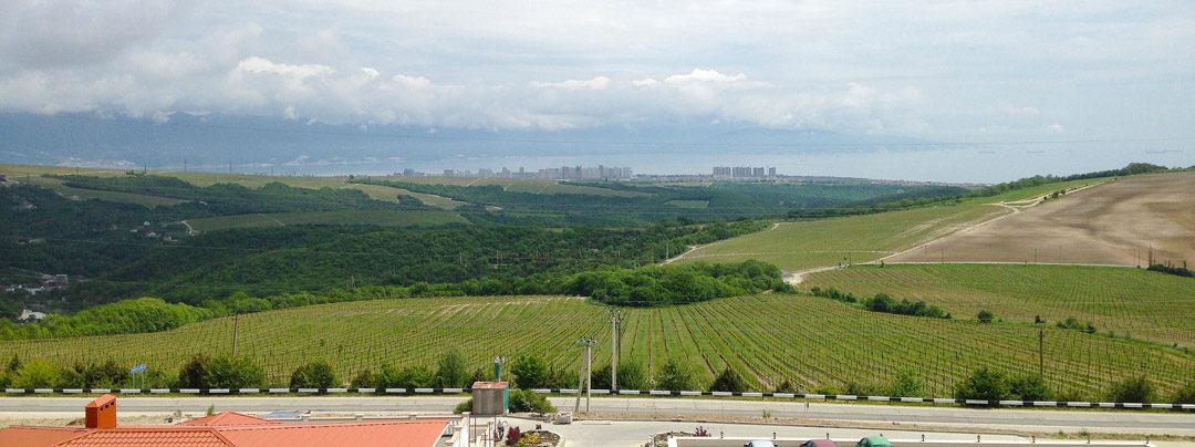 View from Usadba Myskhako
