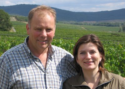 Renaud and Maria Burnier - Domaine Burnier